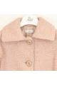 Παλτό σομον  μπουκλε κορίτσι petit
