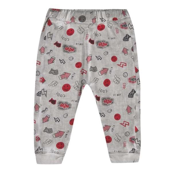 Παντελόνι - φόρμα αγοριού χειμωνιάτικο με print 3Pommes