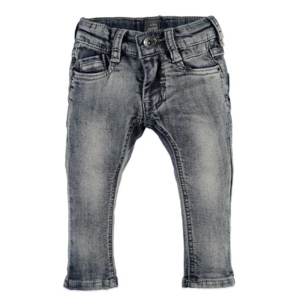 Παντελόνι αγοριού γκρι μπλε Denim τζιν Babyface grey blue