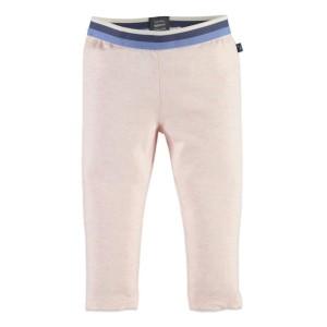 Φόρμα παντελόνι κοριτσιού ροζ - γαλάζιο Babyface pink melange