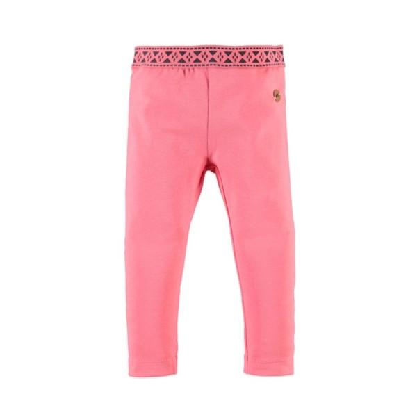Φόρμα παντελόνι κοριτσιού ροζ Babyface CORAL PINK