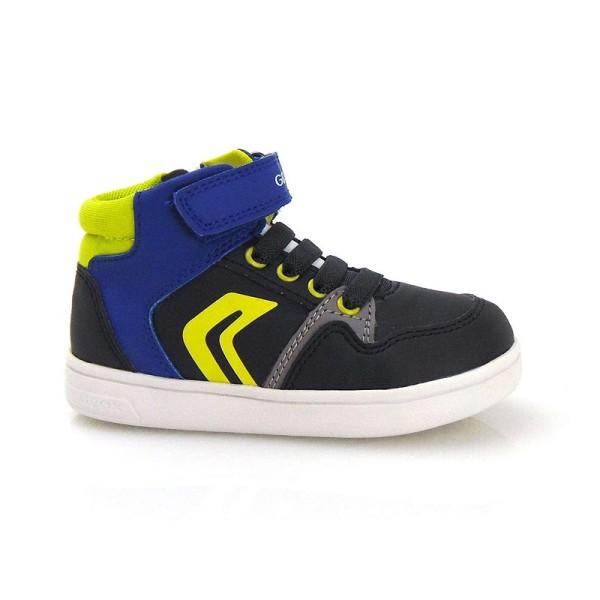 Παπούτσι αγοριού sneakers  - Navy / Lime - GEOX - B DJROCK BOY