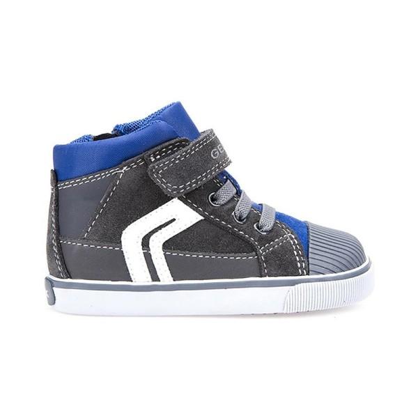 Παπούτσι αγοριού DK Grey / Royal - GEOX - B Kiwi Boy