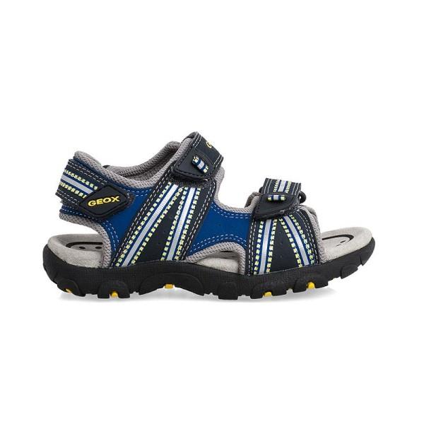 Παπούτσι αγοριού -  Navy / Yellow -  GEOX - J S.STRADA A