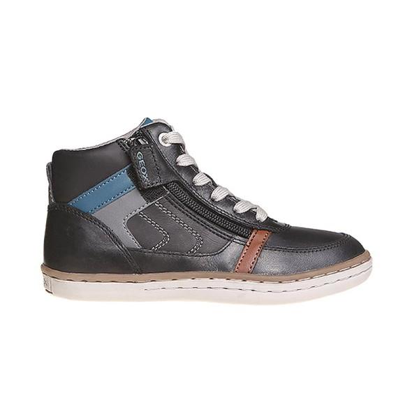 Παπούτσι αγοριού μαύρο - GEOX - JR GARCIA BOY