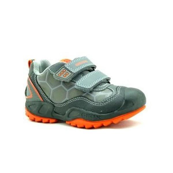 Παπούτσι αγοριού Grey / Orange - GEOX - J New Savage Boy