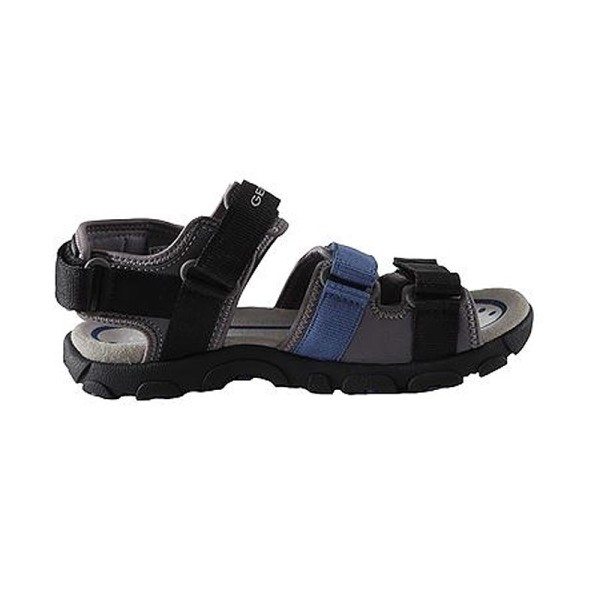 Παπούτσι αγοριού Black / Blue - GEOX - J S.STRADA A
