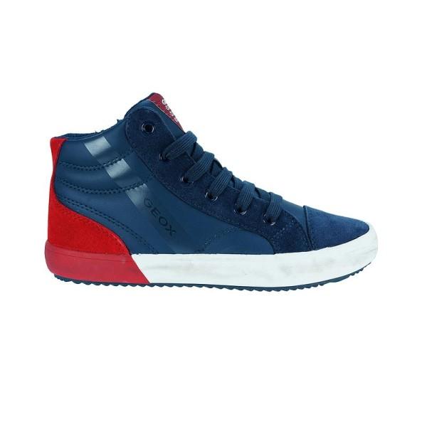 Παπούτσι αγοριού Navy / DK Red - GEOX - J ALONISSO BOY