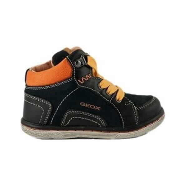 Παπούτσι αγοριού Navy / Οrange - GEOX - B Flick B