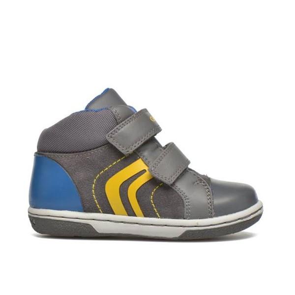 Παπούτσι αγοριού Grey / Yellow - GEOX - B. Flick Boy