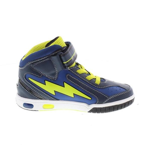Παπούτσι αγοριού Blue / Lime - GEOX - J GREGG C
