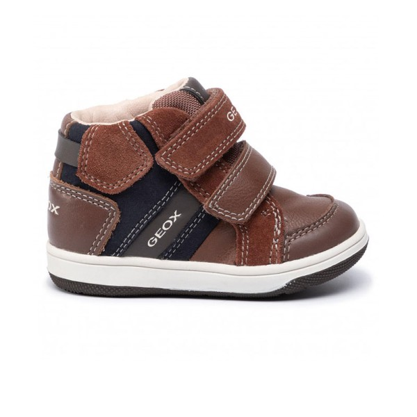 Παπούτσι αγοριού GEOX- BROWN/NAYX - B N.Flick Boy C