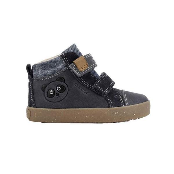 Παπούτσι αγοριού GEOX -  (NAVY) B KILWI BOY - WWF Από οικολογικά υλικά