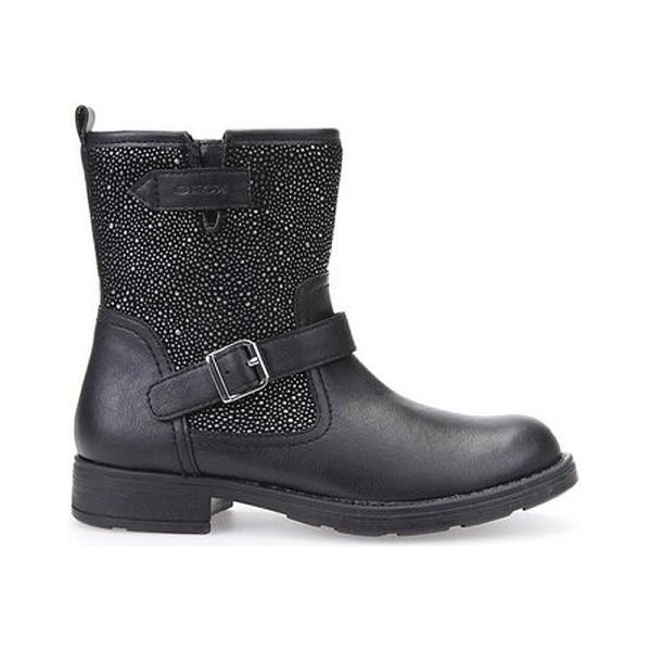 Παπούτσι κοριτσιού - Βoots - Black / Silver - GEOX -  JR SOFIA