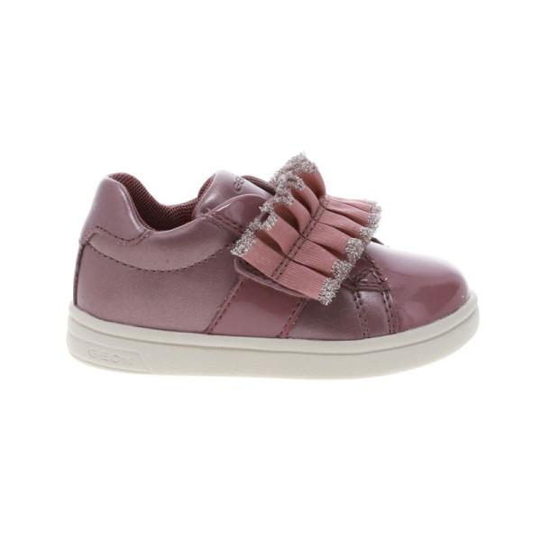 Παπούτσι κοριτσιού σε ροζ χρώμα - sneakers - GEOX -B DJROCK GIRL