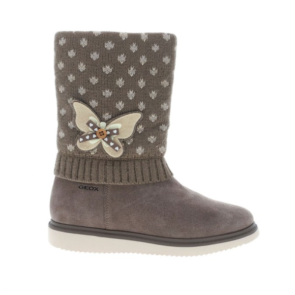 Παπούτσι κοριτσιού - Boots - SMOKE GREY - GEOX - J THYMAR GIRL