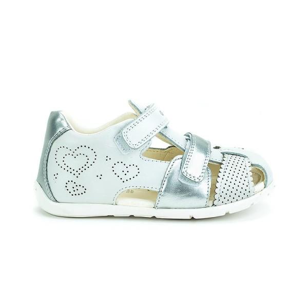 Παπούτσι κοριτσιού White / Silver -  GEOX - B KAYTAN G