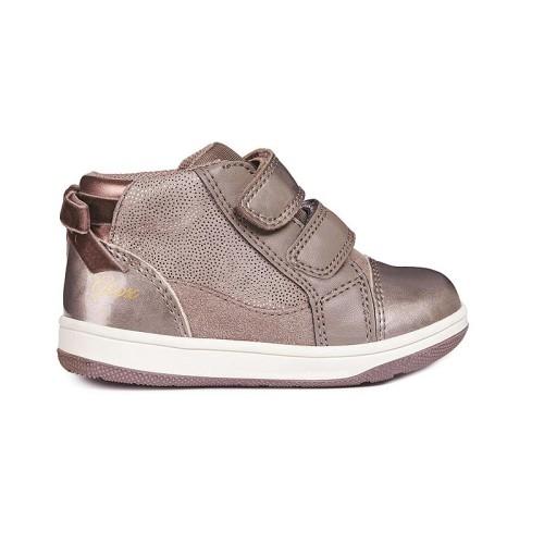 Παπούτσι κοριτσιού sneakers - Smoke Grey - GEOX - B NEW FLICK GIRL