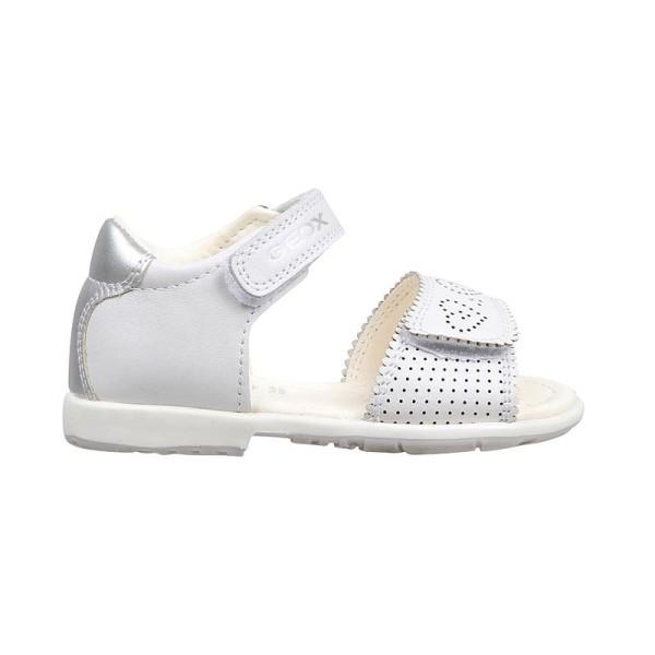 Παπούτσι κοριτσιού  White / Silver - GEOX - B VERRED A