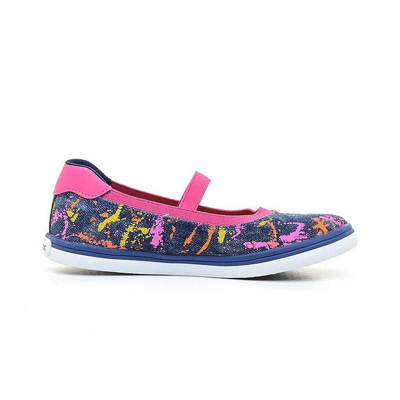 42d240f2642 Παιδικές μπαρέτες κοριτσιού Jeans / Fuchsia - GEOX - Ballerina - JR Kiwi  Girl