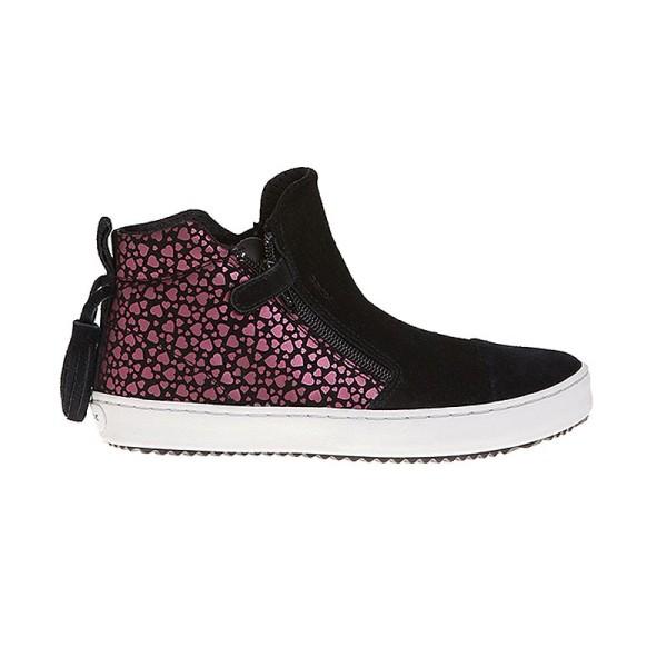 Παπούτσι κοριτσιού μαύρο sneakers - GEOX - J KALISPERA GIRL