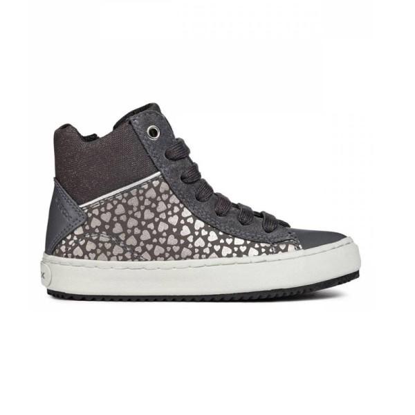 Παπούτσι κοριτσιού γκρι sneakers - GEOX - J KALISPERA GIRL