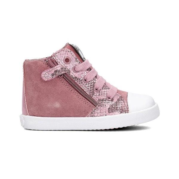 Παπούτσι κοριτσιού DK Pink / Grey -  GEOX - B Kiwi Girl