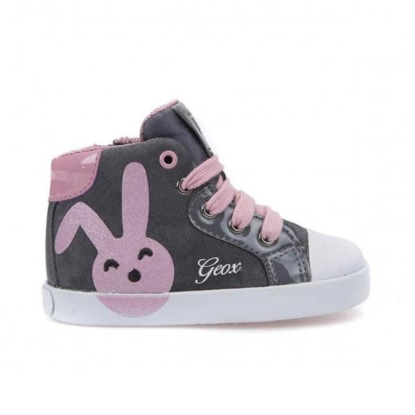 Παπούτσι κοριτσιού Dk Grey / Pink - B Kiwi Girl