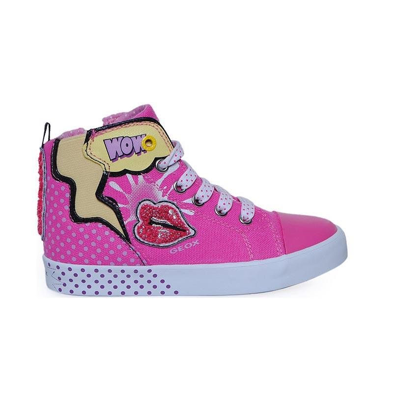 d486ca24163 Παπούτσι κοριτσιού Print Camvas / Fuchsia - GEOX - JR CIAK GIRL