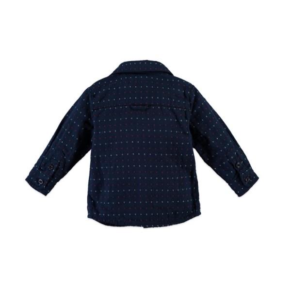 Πουκάμισο αγοριού Boys shirt longsleeve από την εταιρία Babyface σε μπλε NAVY χρώμα