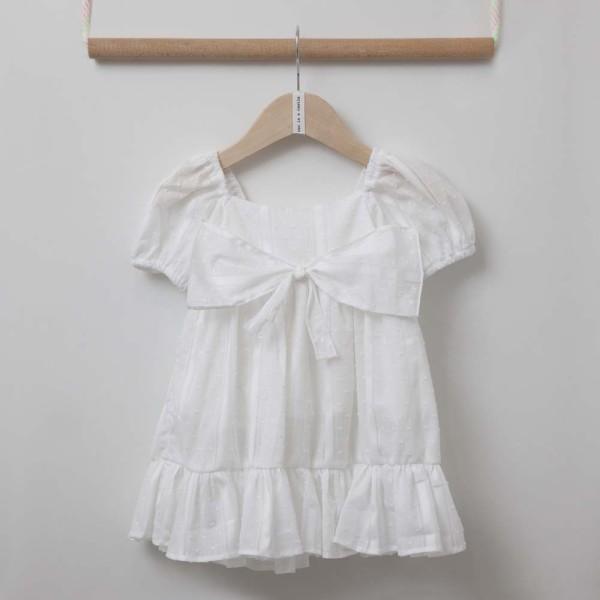 Φόρεμα  λευκο κορίτσι two in a castle