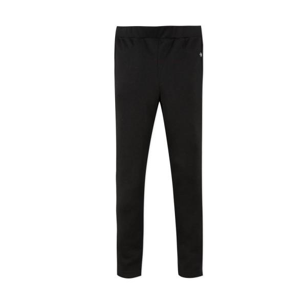 Παντελόνι κοριτσιού με λάστιχο στη μέση σε μαύρο χρώμα με τσέπες στο πίσω μέρος της εταιρίας 3Pommes