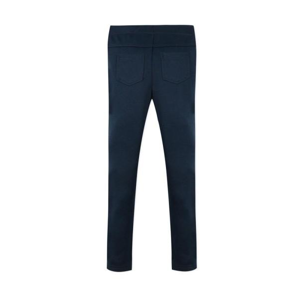 Παντελόνι κοριτσιού με λάστιχο στη μέση σε μπλε σκούρο χρώμα με τσέπες στο πίσω μέρος της εταιρίας 3Pommes