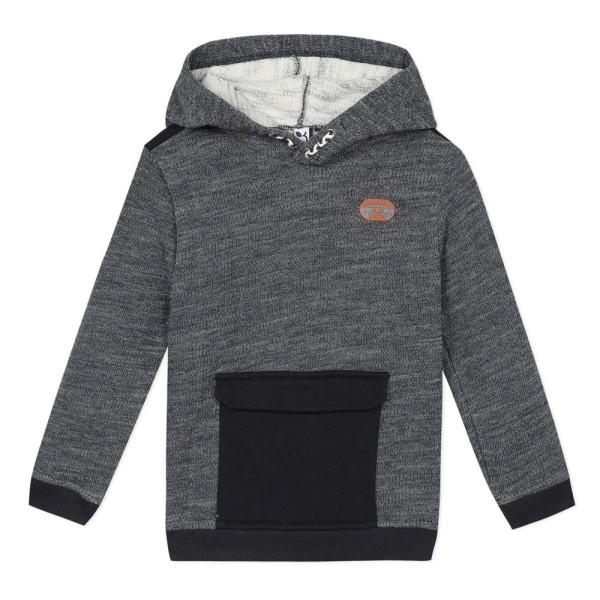 Μπλούζα φούτερ αγοριού με μακρύ μανίκι σε γκρι χρώμα της εταιρίας 3Pommes
