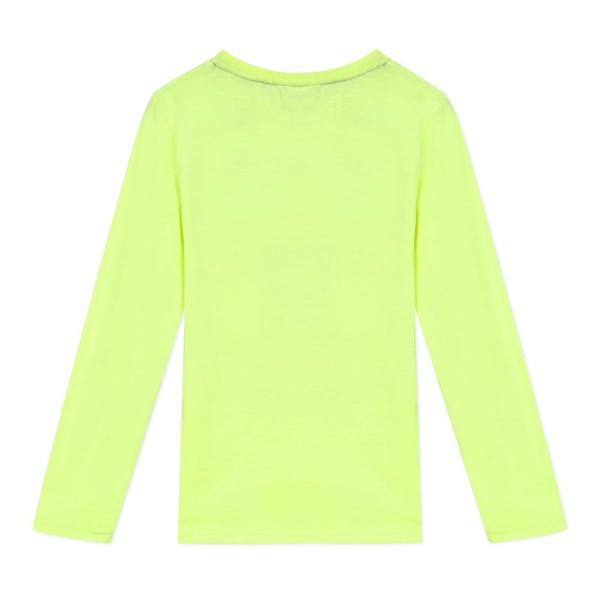 Μπλουζάκι αγοριού με μακρύ μανίκι σε κίτρινο χρώμα της εταιρίας 3Pommes