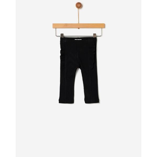 Παντελόνι κολάν με βολάν σε black χρωμα  κοριτσιού της εταιρίας YELL-OH!  41170234012