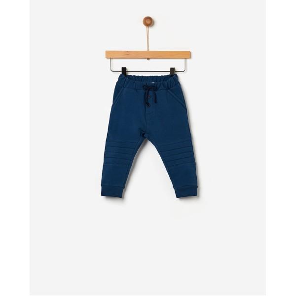 Παντελόνι αγοριού φούτερ μπλε της εταιρίας YELL-OH!  41171105011