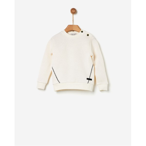 Μπλούζα αγοριού μουλινε λευκή της εταιρίας YELL-OH! 41171206098