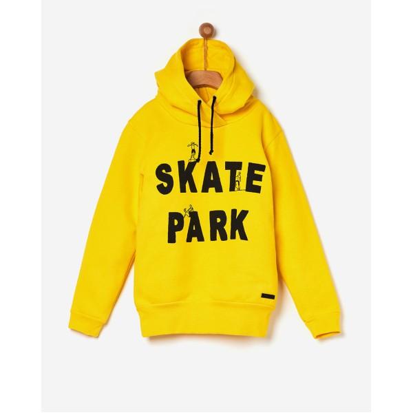 Φούτερ αγοριού Skate με κουκούλα σε κίτρινο χρώμα της εταιρίας YELL-OH! 42171210084